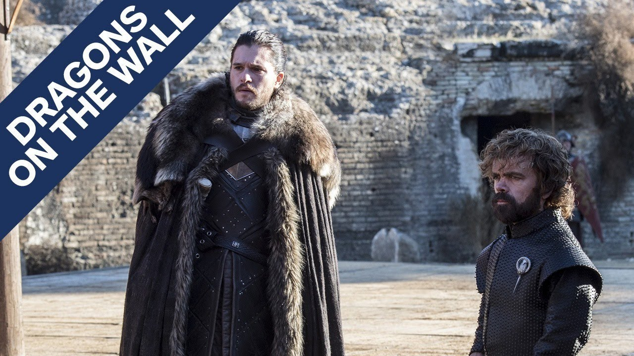 "Game of Thrones: ""The Dragon and the Wolf"" – Dragons on the Wall"