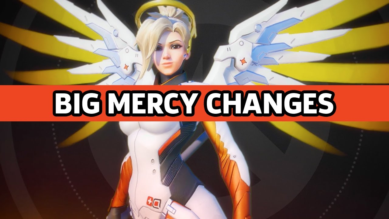 Overwatch Developer Update – Mercy Balance Updates