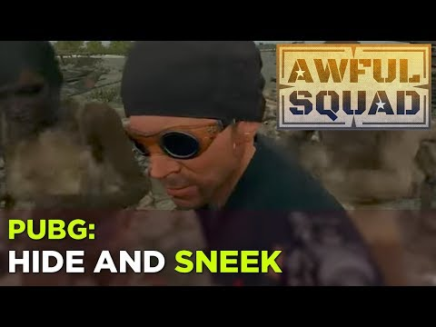 AWFUL SQUAD: Hide and SNEEK w/ Griffin, Justin, Russ and Simone