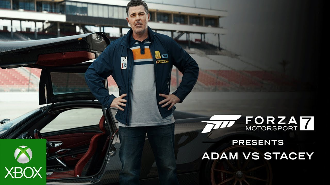 Forza Motorsport 7 Presents: Adam vs. Stacey