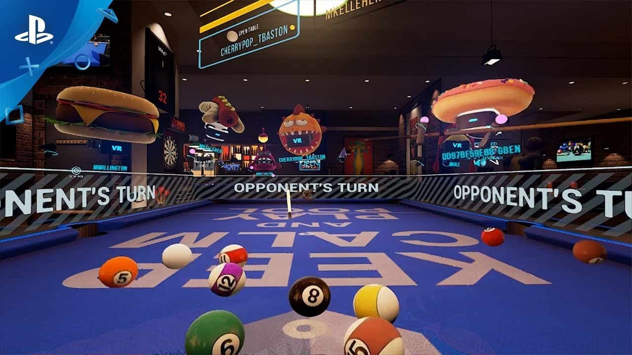 Sports Bar VR 2.0 Gameplay Trailer | PS VR