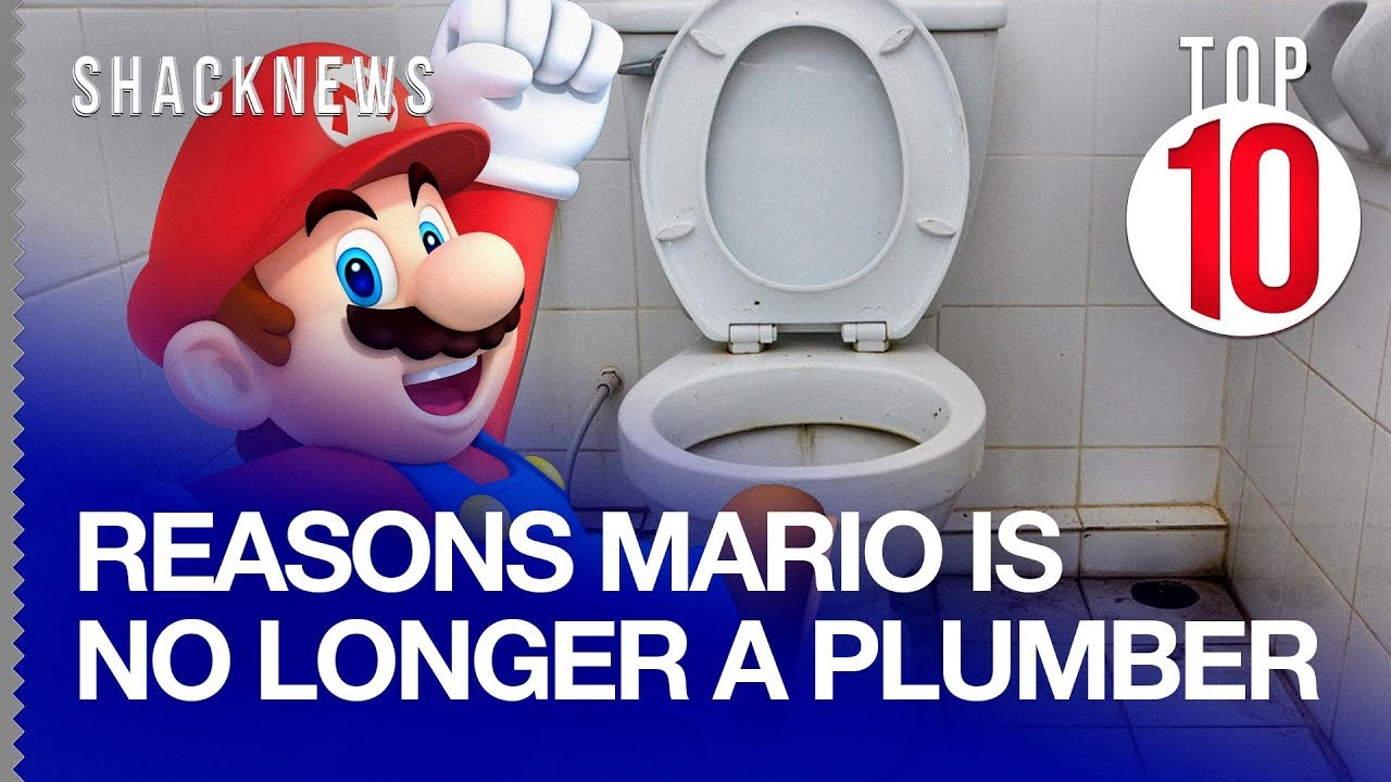 Top 10 Reasons Mario Is No Longer A Plumber