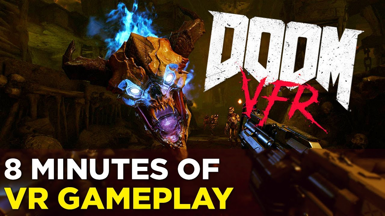 DOOM VFR — 8 Minutes of VR Demon Slaying Gameplay
