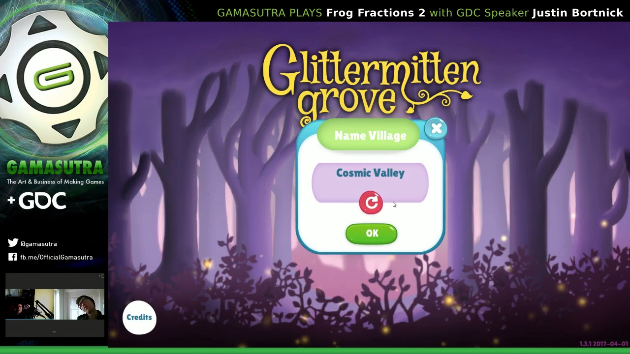 Gamasutra plays Frog Fractions 2 with Justin Bortnick