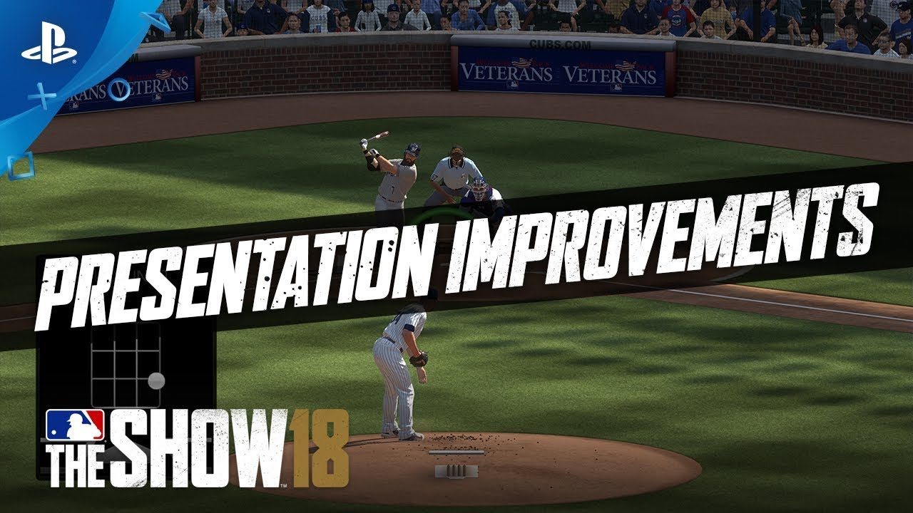 MLB The Show 18 – Gamestop Monday: Commentary & Presentation Improvements | PS4