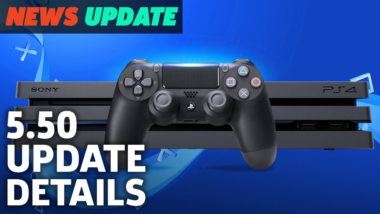 PS4 5.50 Update: Here's What It Does – GS News Update