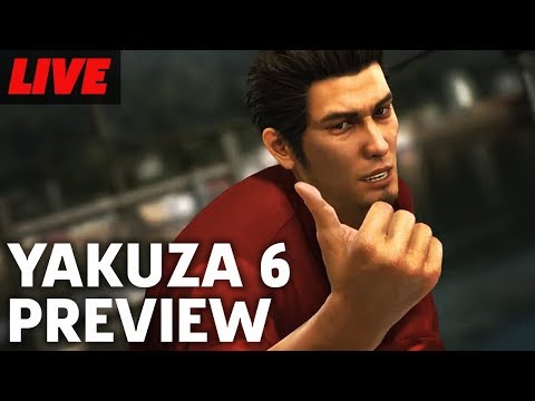 Yakuza 6: Song Of Live Early Preview Livestream