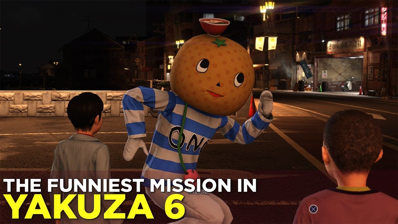 YAKUZA 6: The Funniest Mission