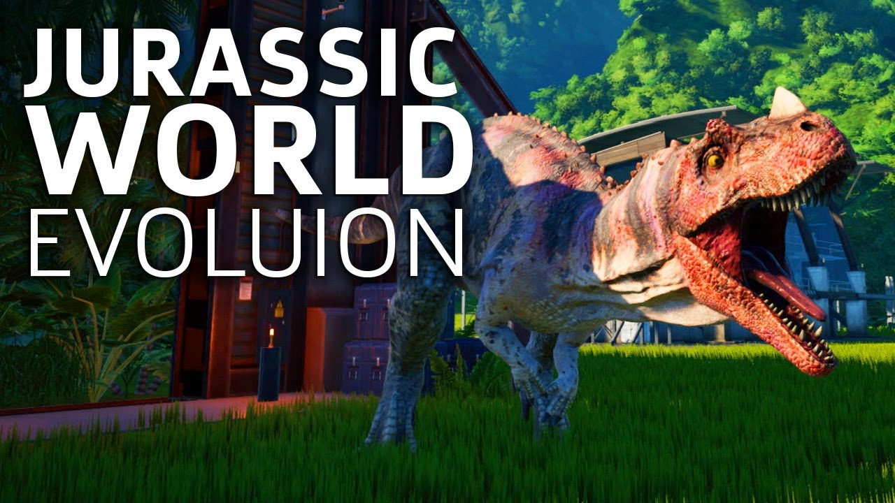 10 Minutes of Jurassic World Evolution Gameplay