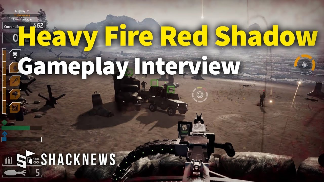 Heavy Fire Red Shadow Gameplay Interview