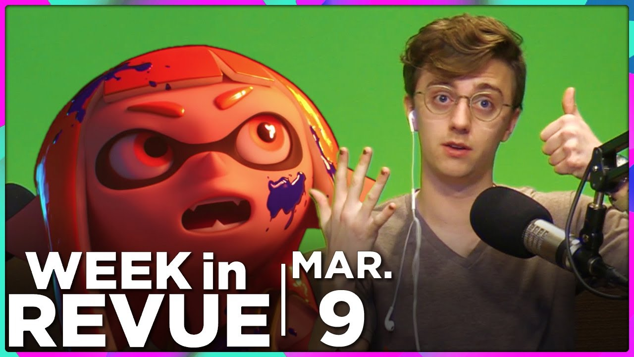 Smash Bros. & Wrinkling Time — WEEK IN REVUE, Mar. 9, 2018