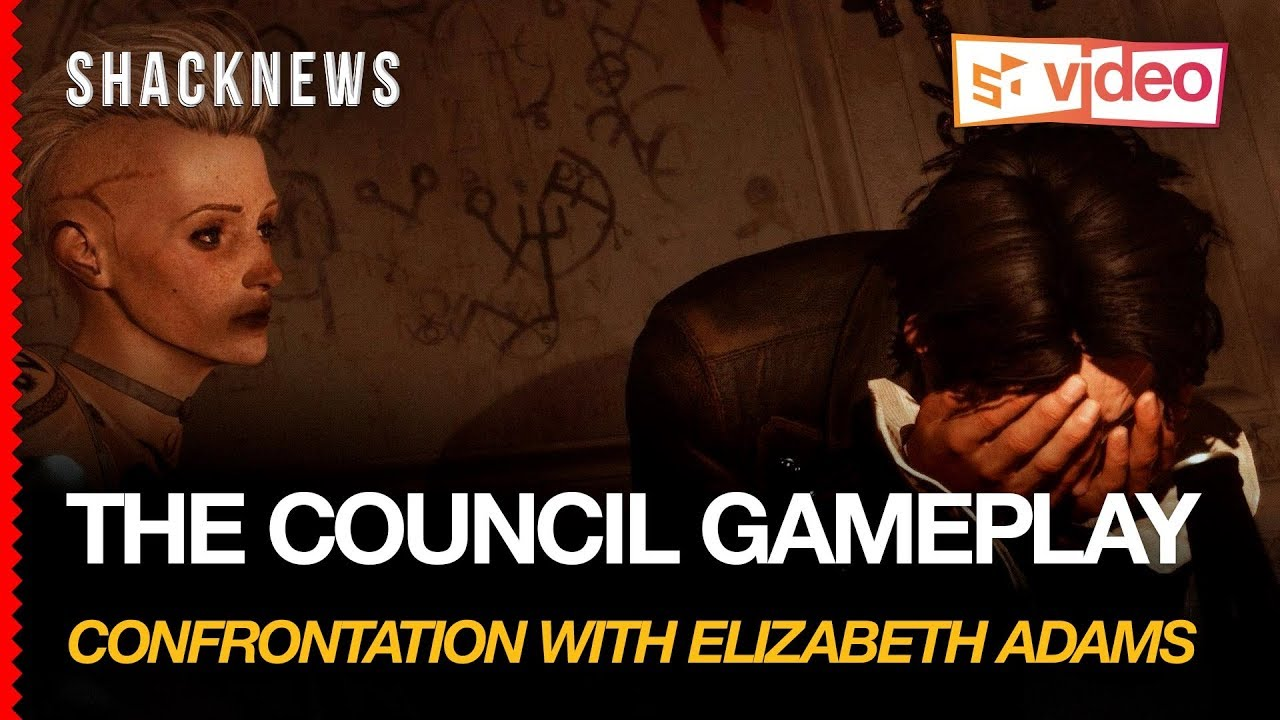 The Council Gameplay – Confrontation With Elizabeth Adams