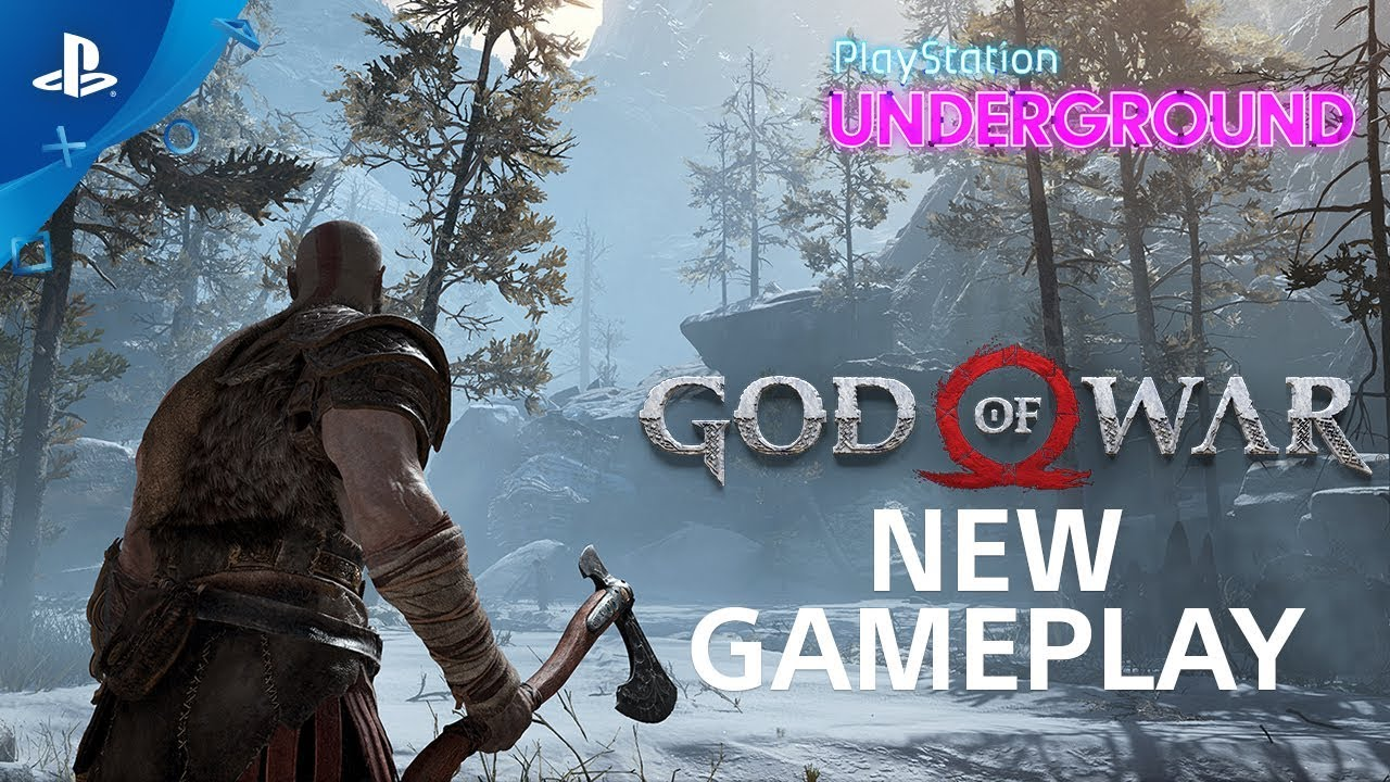 God of War – New Gameplay: Trolls, Exploration, and More | PS Underground