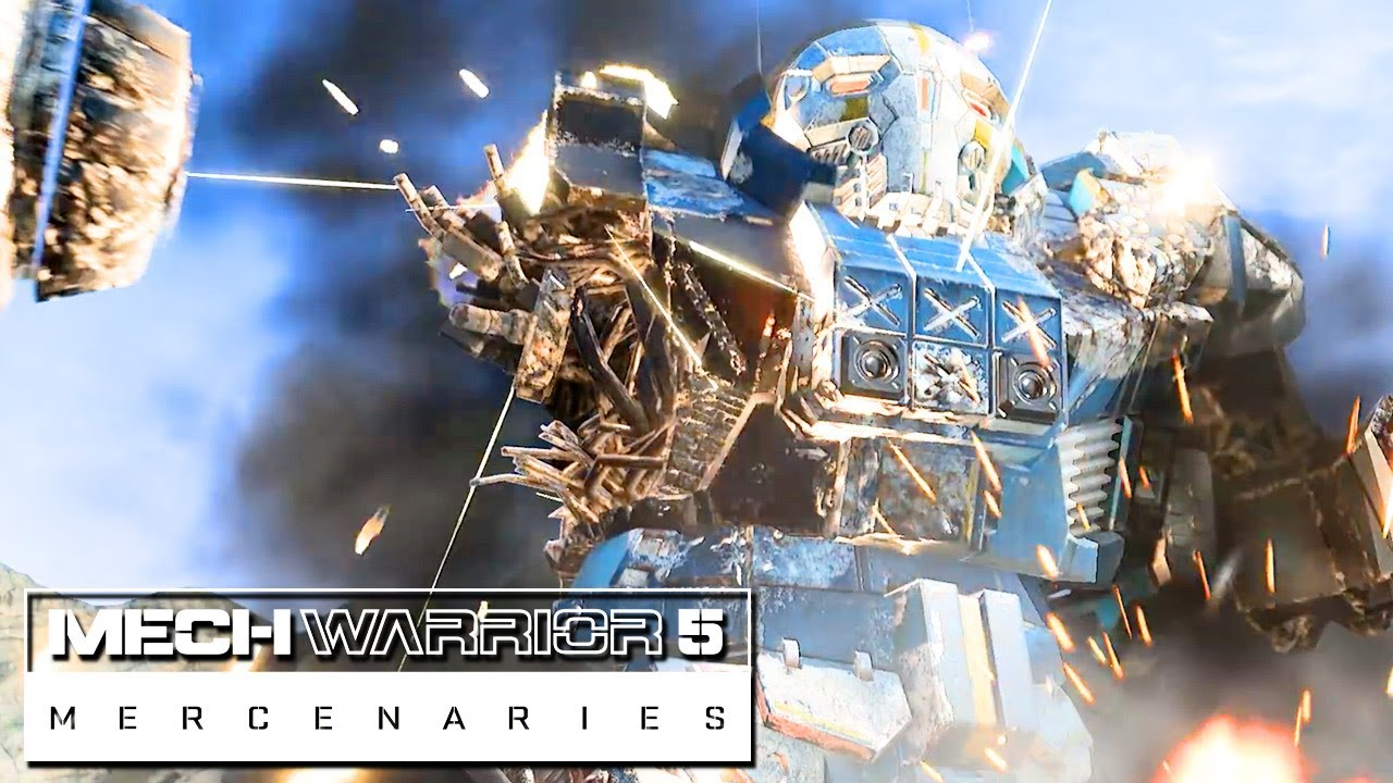 MechWarrior 5 Mercenaries – Destructibility Teaser Trailer