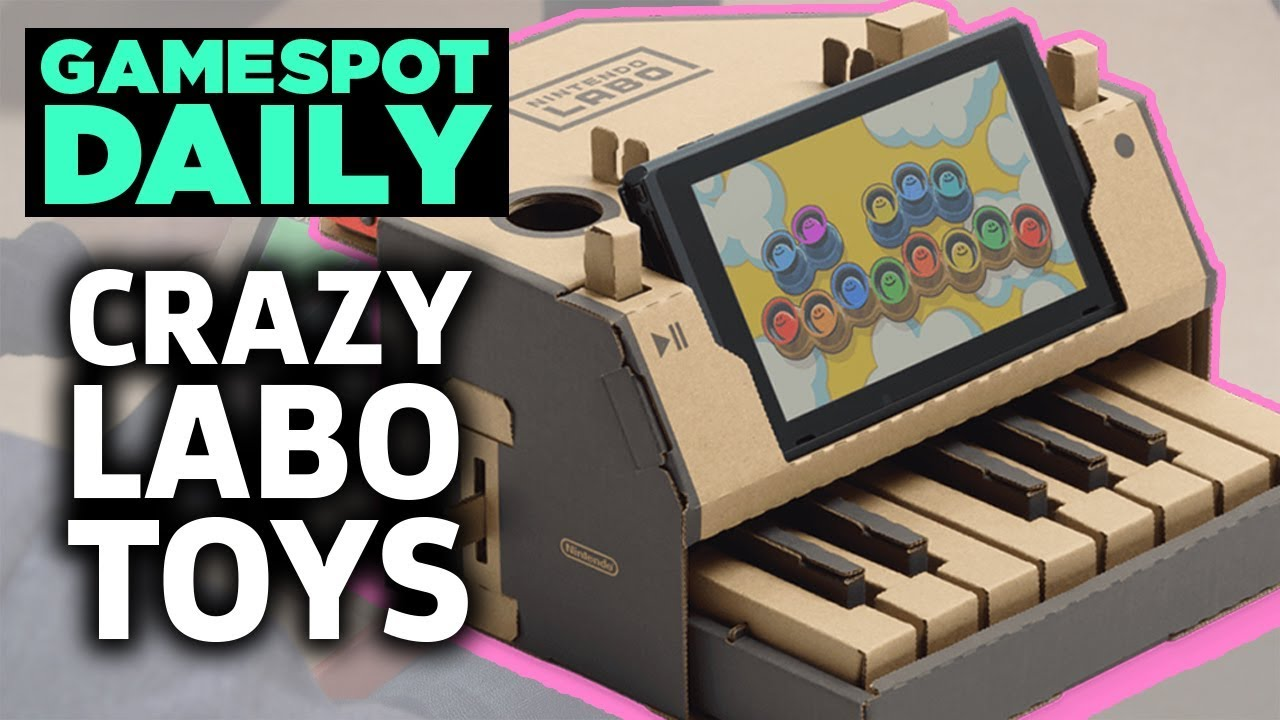 Nintendo Switch's Labo Creations Are Already Crazy – GameSpot Daily