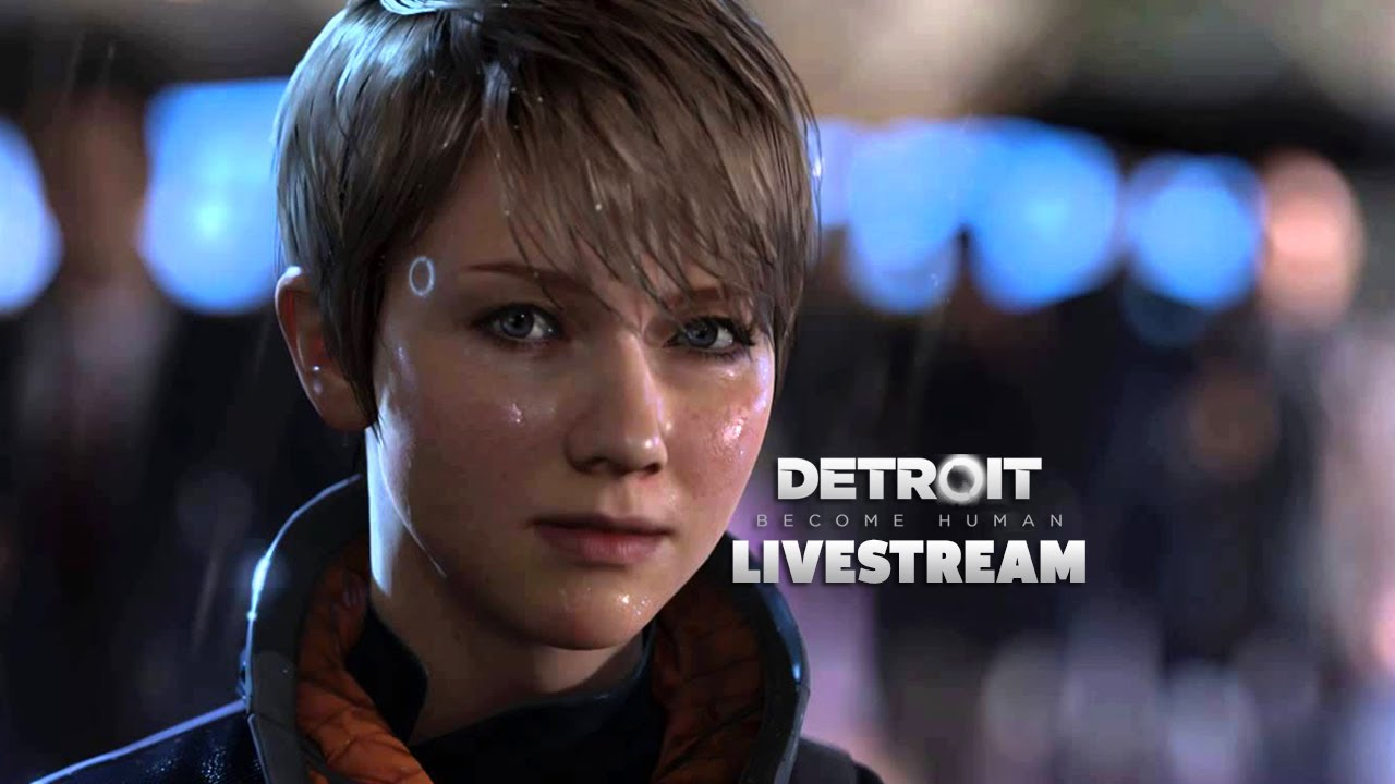 Testing Out Detroit Become Human Demo | GameSpot LIVE Replay