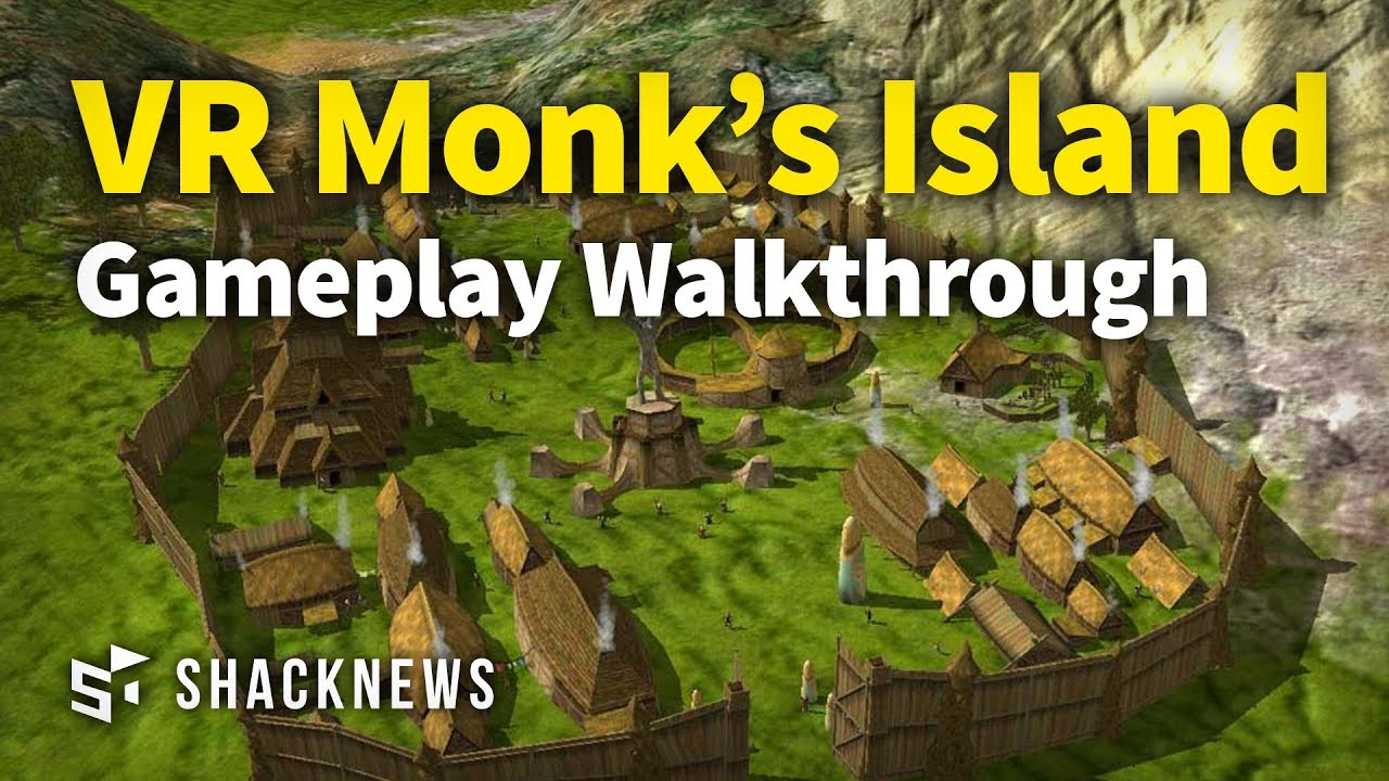 New VR Game Monk's Island: Gameplay Walkthrough