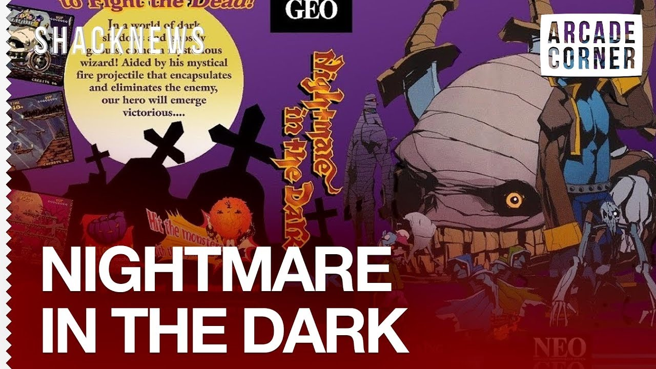 Shack's Arcade Corner: Nightmare in the Dark