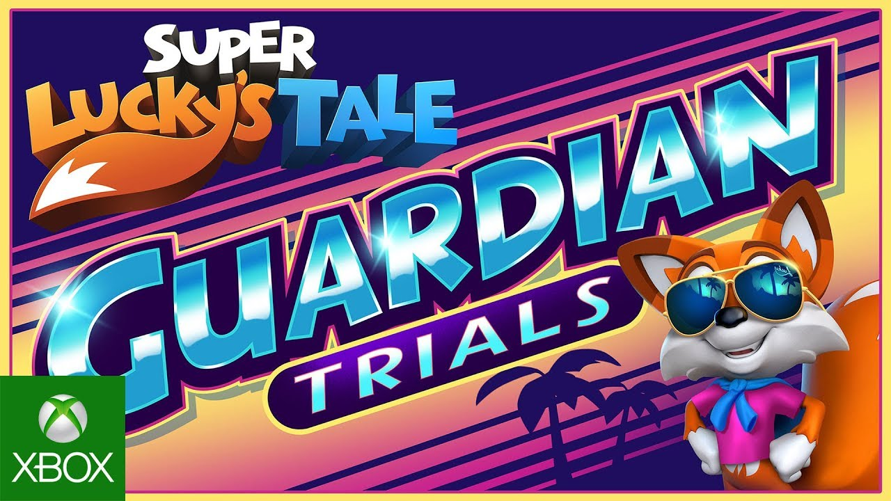 Super Lucky's Tale – Guardian Trials Add On Trailer