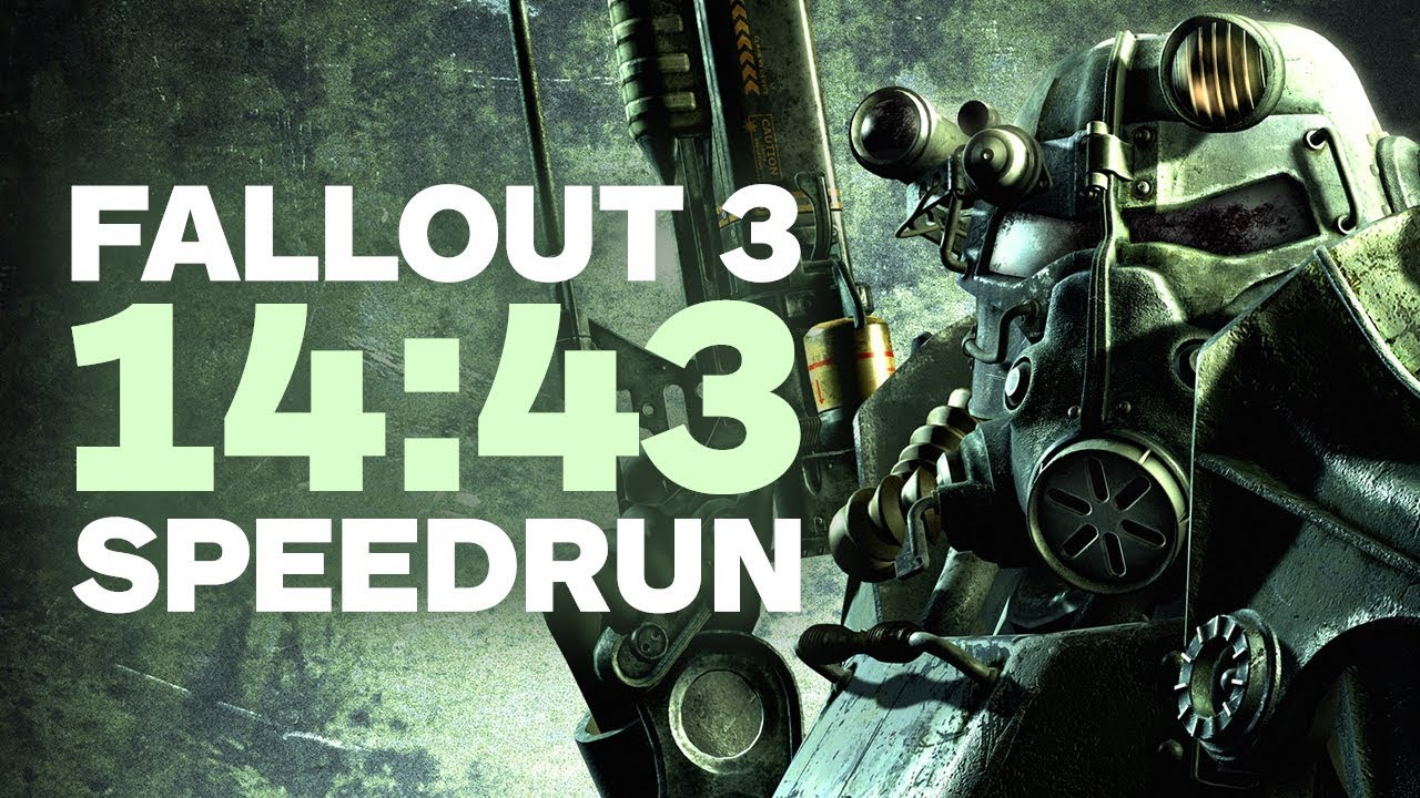 Fallout 3 Finished In Under 15 Minutes – Speedrun