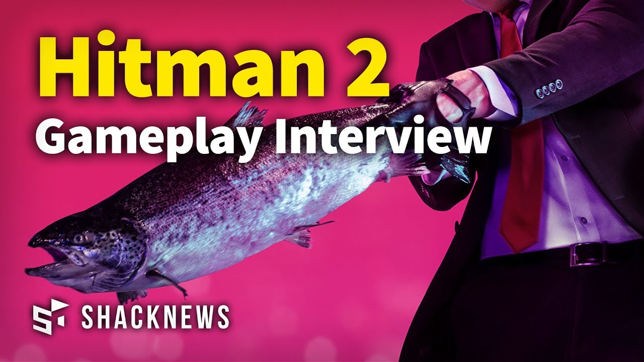 Hitman 2 – Gameplay Interview