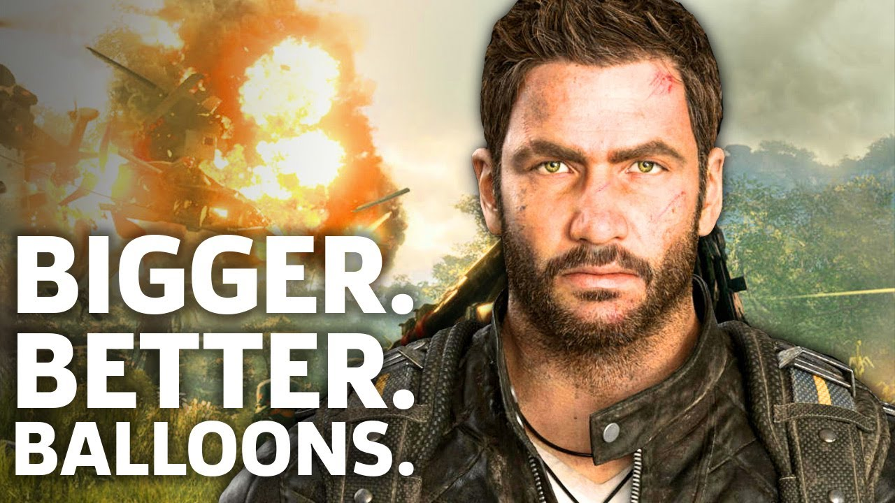 Just Cause 4 is Bigger, Better, and Has Balloons – E3 2018