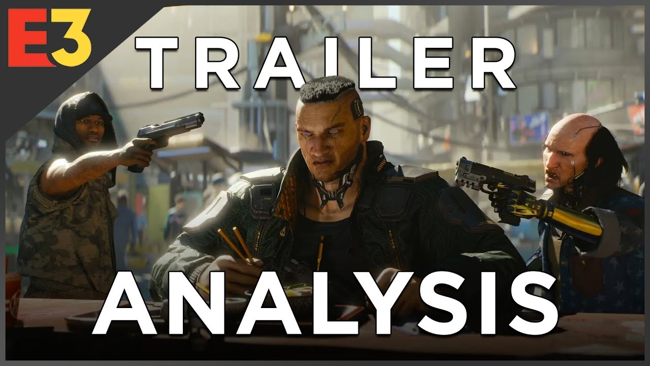 Cyberpunk 2077: In-Depth TRAILER ANALYSIS & Secret Coded Messages! | Polygon @ E3 2018