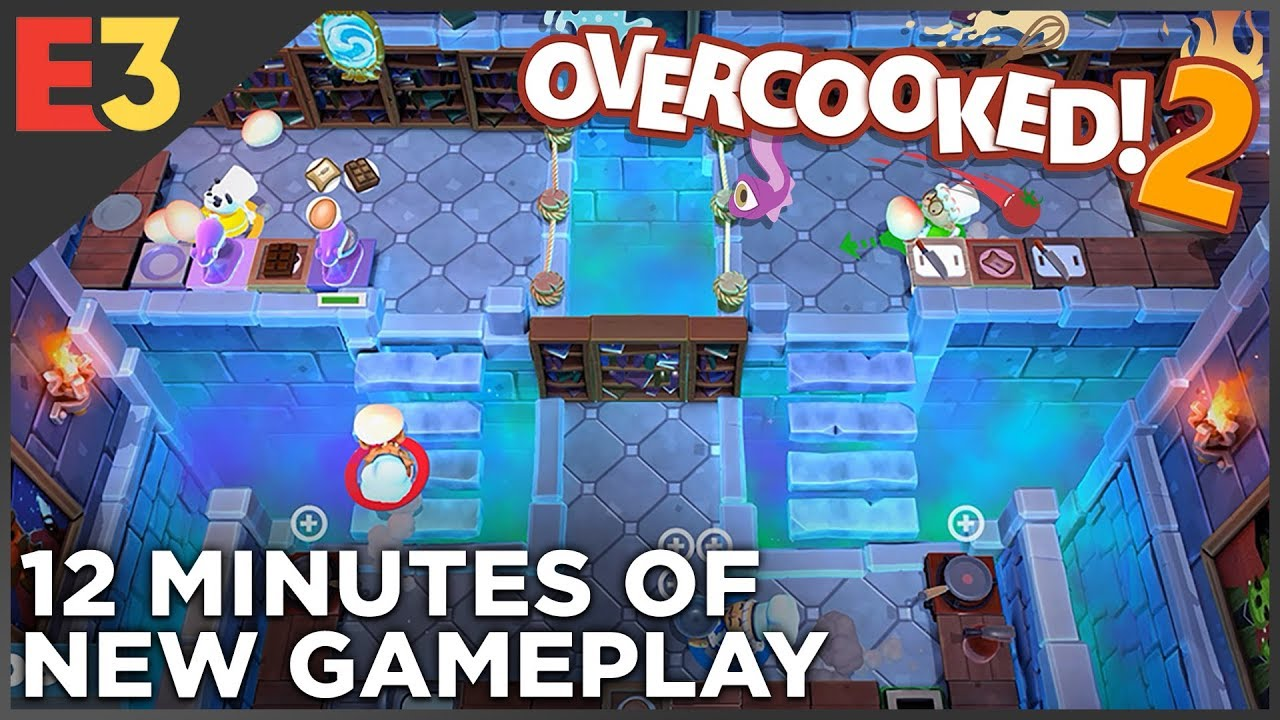 Overcooked 2 — NEW GAMEPLAY! | Polygon @ E3 2018