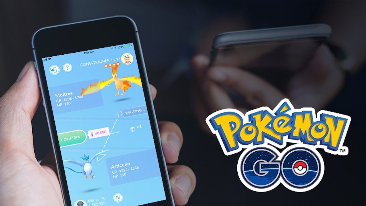 Pokemon Go – Trading Gameplay