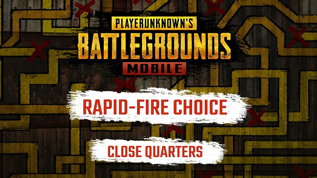 PUBG Mobile – Rapid-Fire Choice: Close Quarters Combat Exclusive Trailer