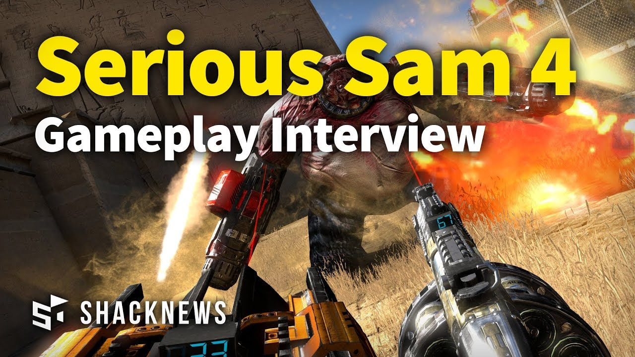 Serious Sam 4 – Gameplay Interview