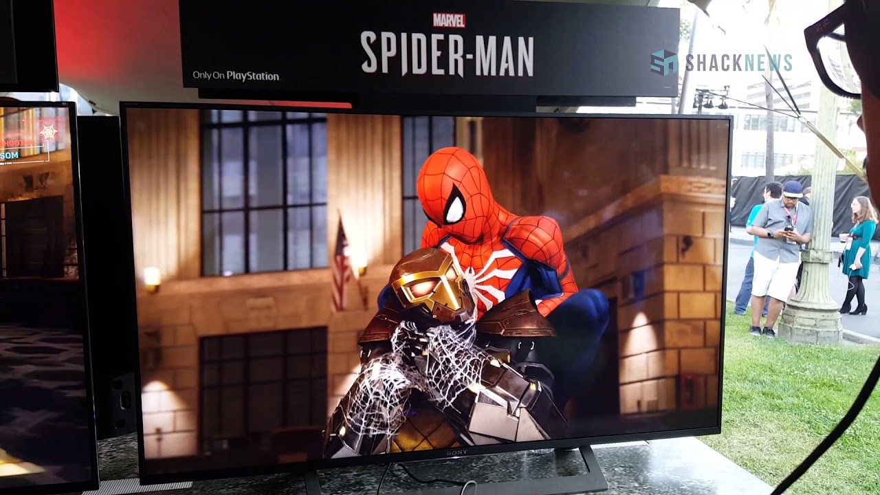 Spider-Man PS4 – Shocker Boss Fight Gameplay