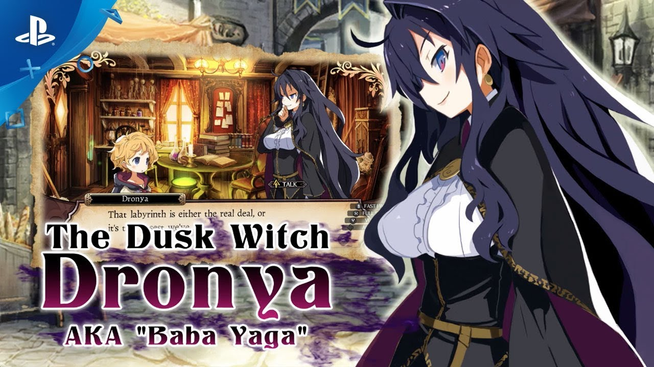 Labyrinth of Refrain: Coven of Dusk – Character Trailer | PS4