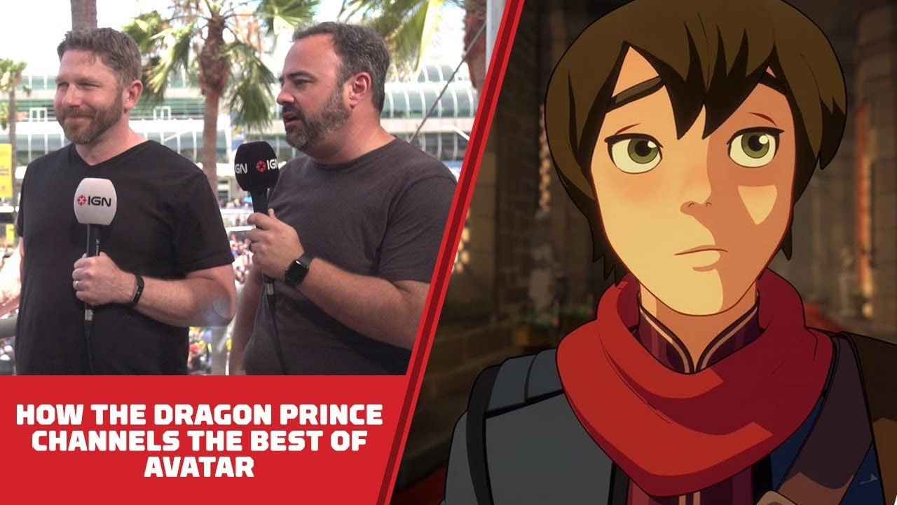 How Netlix's Dragon Prince Channels the Best of Avatar: The Last Airbender – Comic Con 2018