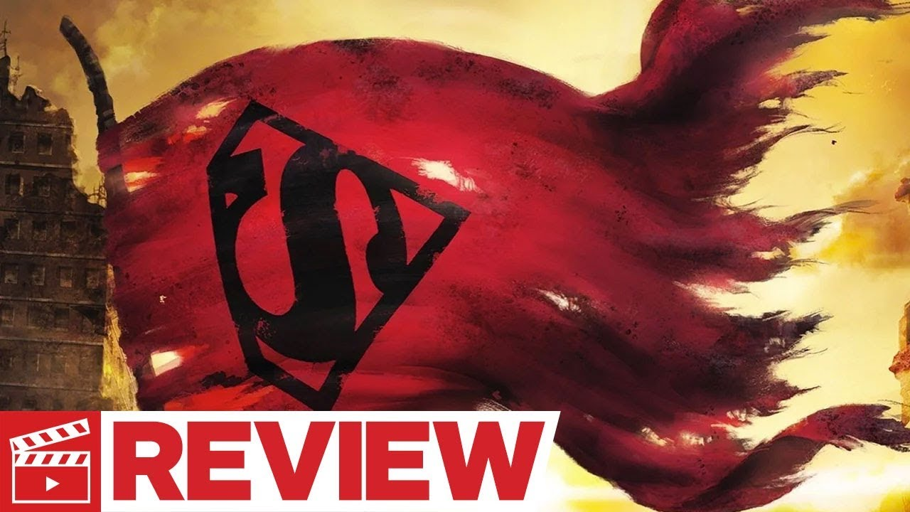 The Death of Superman Review – Comic-Con 2018