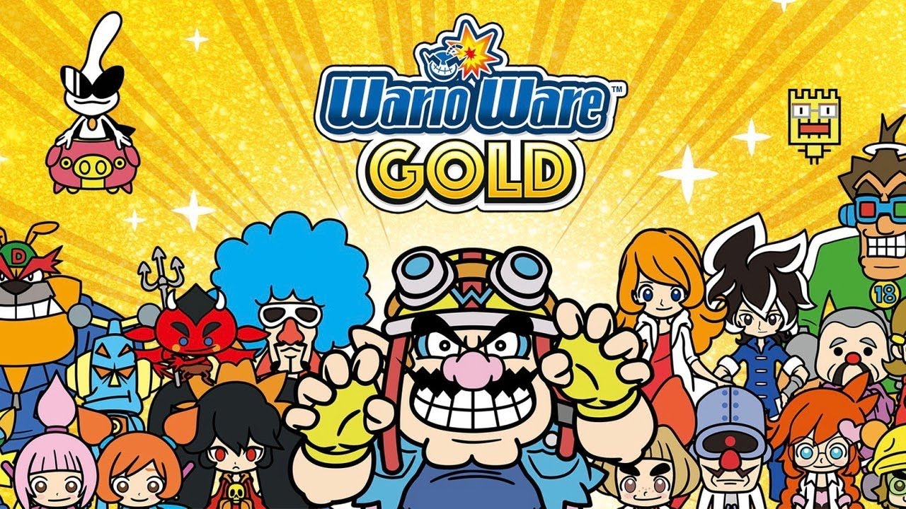 WarioWare Gold – 3 Minutes of Nintendo Themed Microgames (5-Volt)