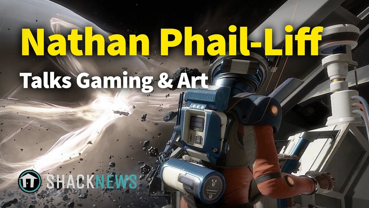Studio Art Director Nathan Phail-Liff Talks Gaming & Art