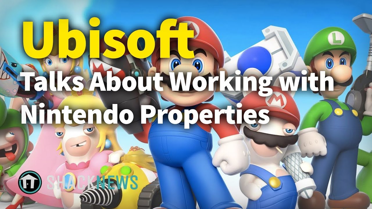 Ubisoft Talks About Working with Nintendo Properties