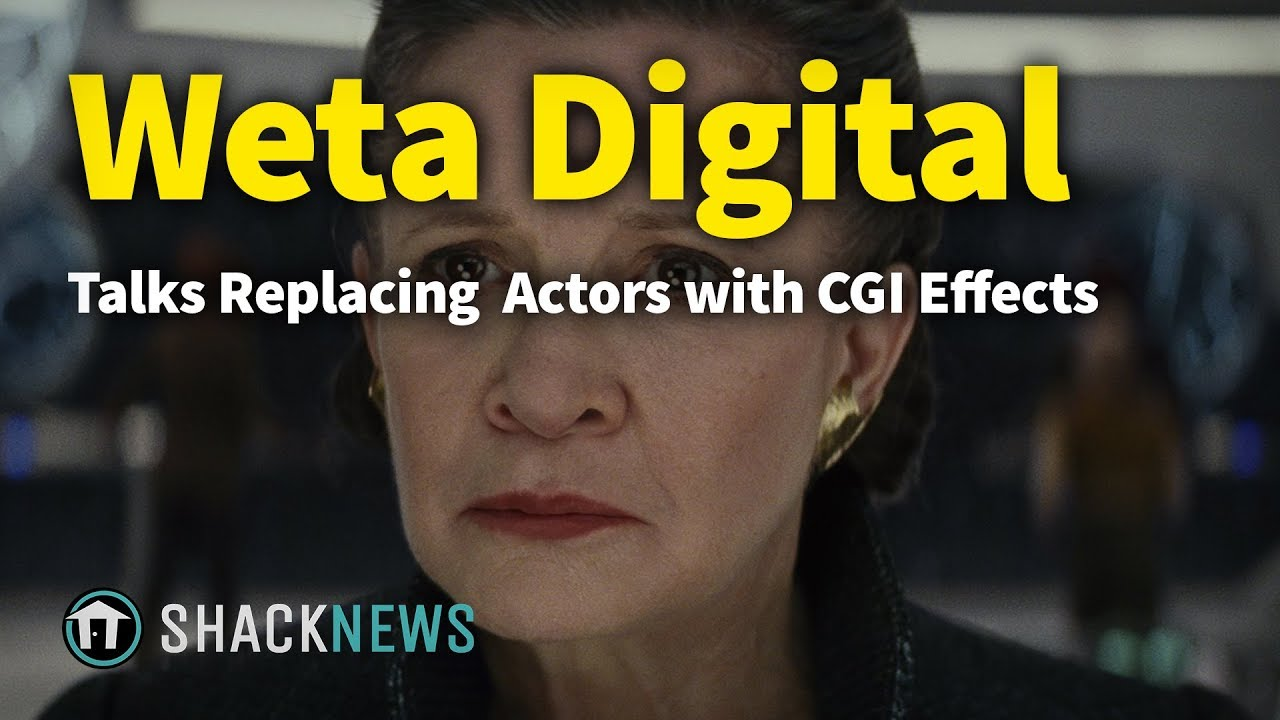Weta Digital Talks Replacing Dead Actors with CGI Effects