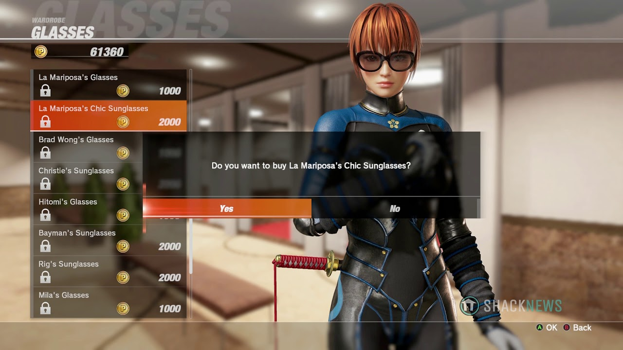 Dead or Alive 6 – Character Customization
