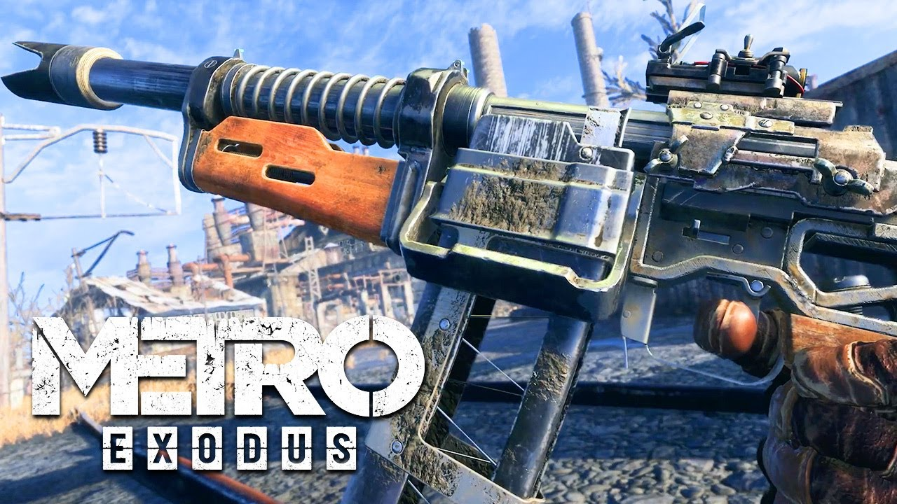 Metro Exodus – Official Weapons Trailer