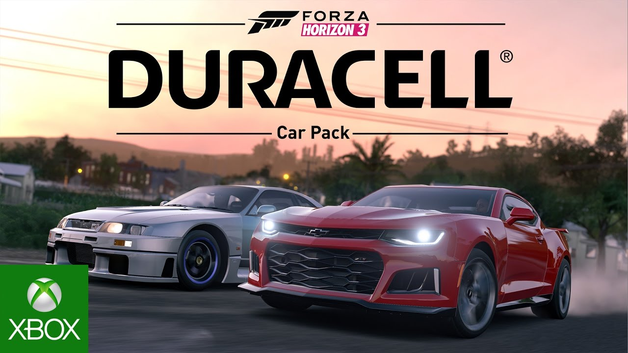 Forza Horizon 3 Duracell Car Pack ⋆ Game Site Reviews